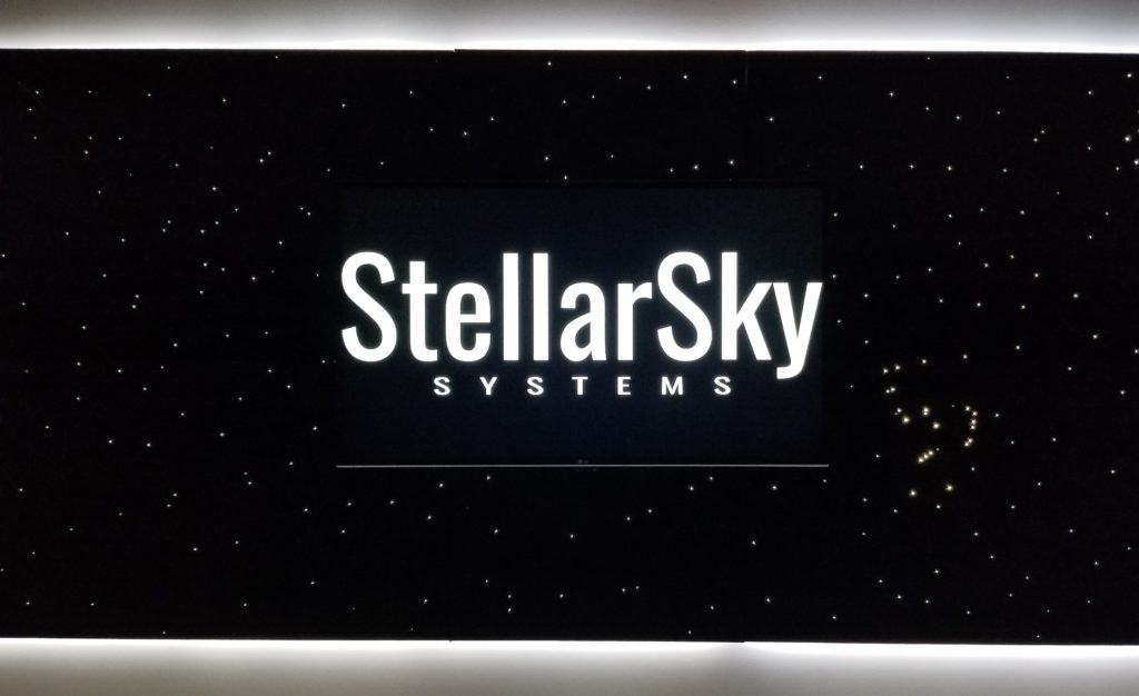 Photo of StellarSky Star Panels with White Horizon LED