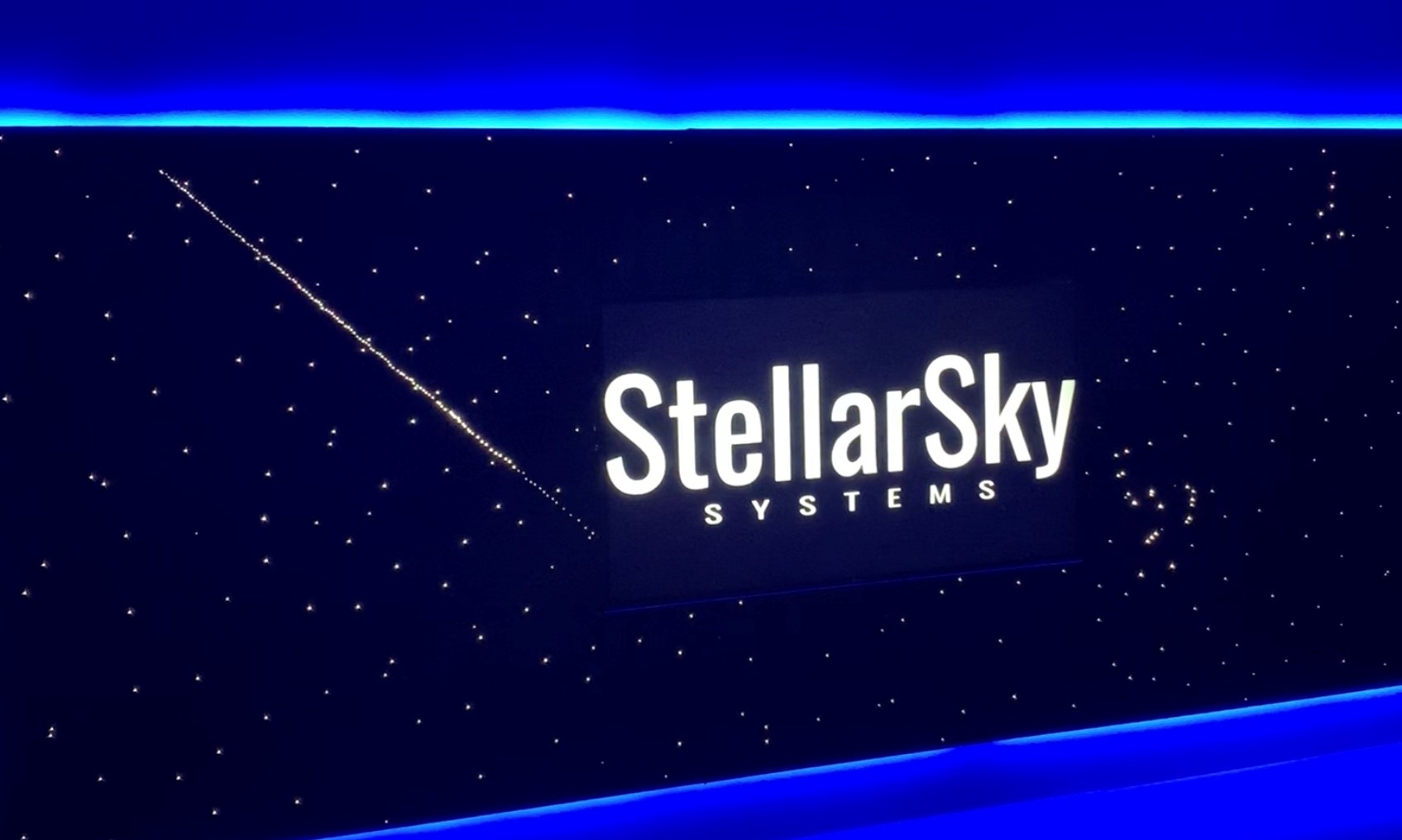 StellarSky Star Panels with Blue Horizon LED and shooting star
