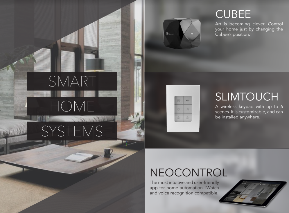 Neocontrol smart home system