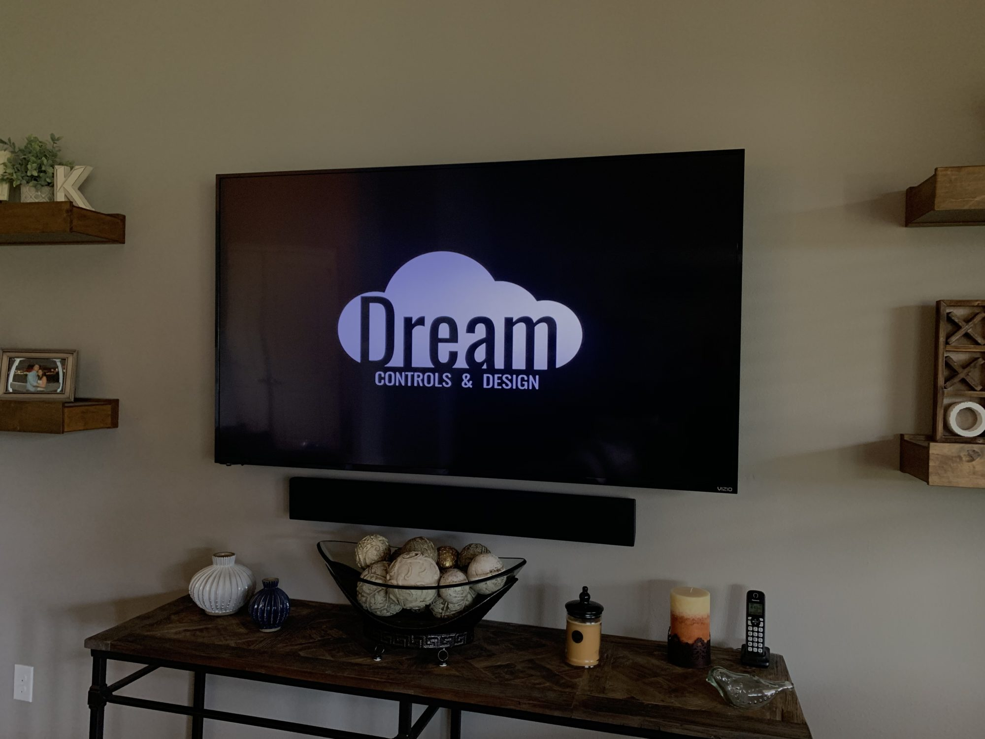 Photo of a East Orlando, FL Estate TV and sound bar installed by Dream Controls & Design